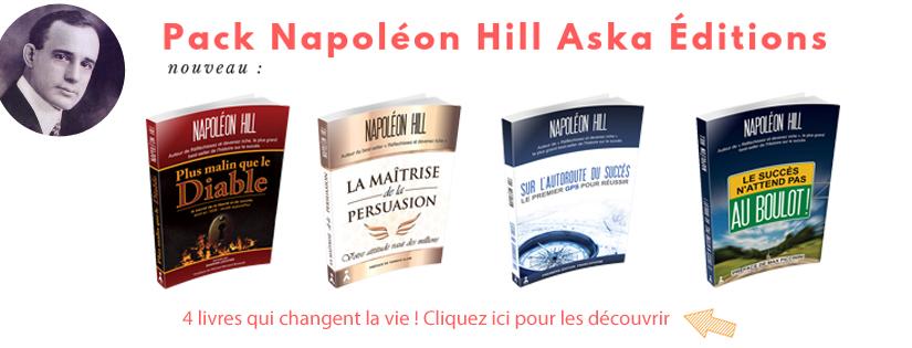 Pack Napoleon Hill Aska Editions